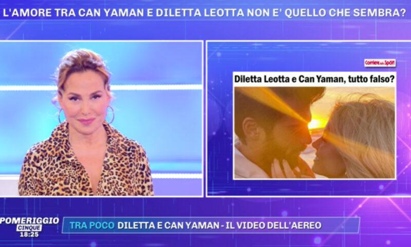 Pomeriggio 5: tutto finto tra Can Yaman e Diletta Leotta?