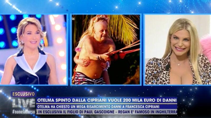 Live Non è la d'Urso: Otelma contro Francesca Cipriani