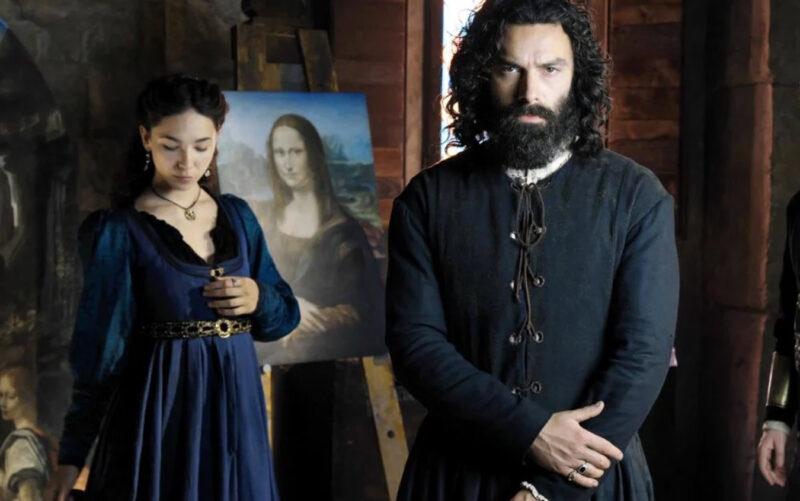 Leonardo: Aidan Turner svela il rapporto con Matilde De Angelis