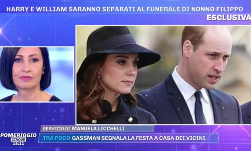 Pomeriggio 5: Kate Middleton sostiene Harry