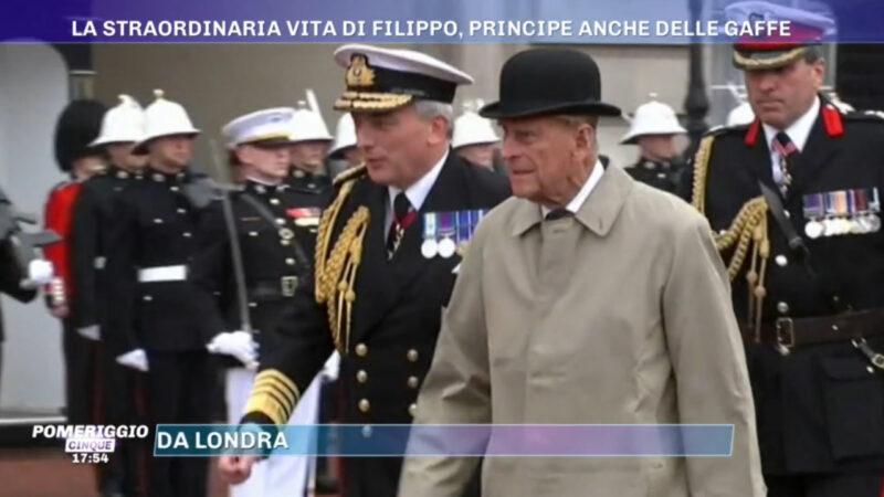 Pomeriggio 5: speciale sul Principe Filippo