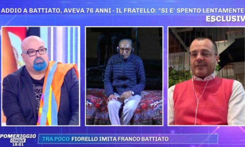 Pomeriggio 5: l'addio a Franco Battiato