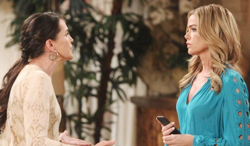 Beautiful anticipazioni oggi 11 Giugno, il bacio tra Brooke e Bill: Shauna ha le prove