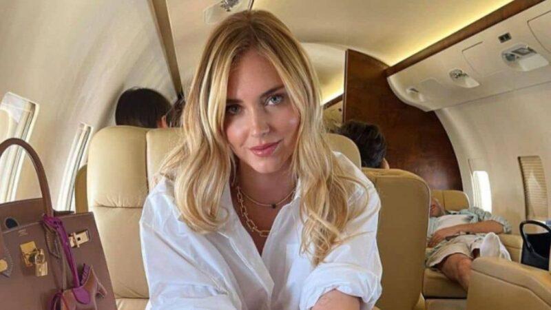 Chiara Ferragni: bufera social per il jet privato