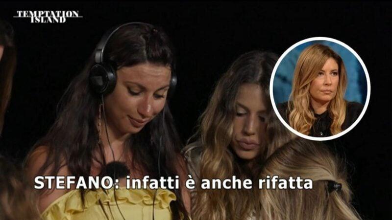 """Temptation, la Lucarelli contro due coppie: """"co-dipendenza di quelle malsane"""""""